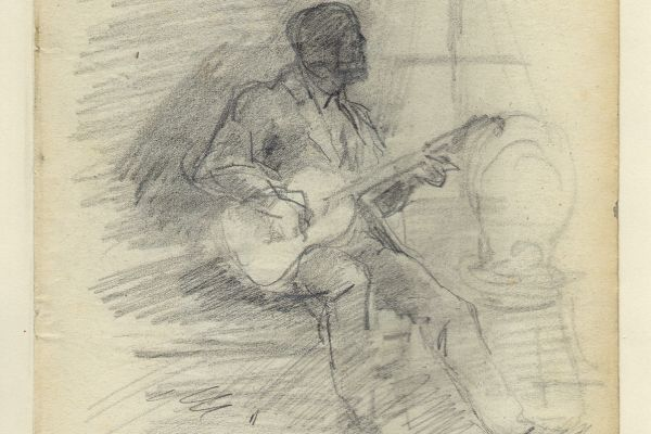 Drawings by Nicolae Grigorescu