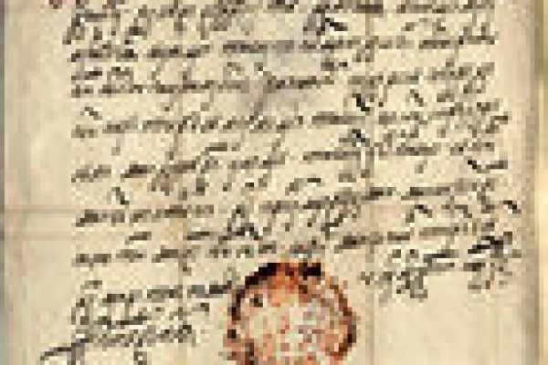 Historical documents from 15th century to 19th century