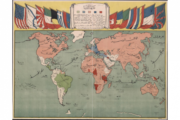 First World War maps preserved by the British Library