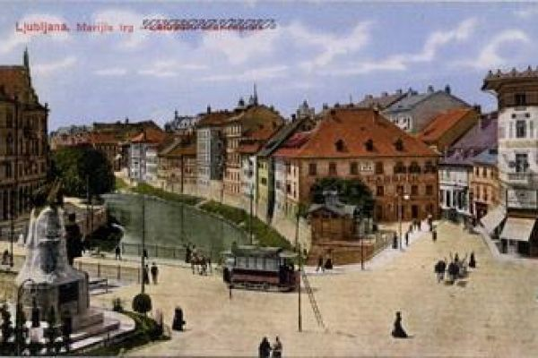 Old postcards of Ljubljana (Slovenia) from the beginning of the 20th century until World War II.