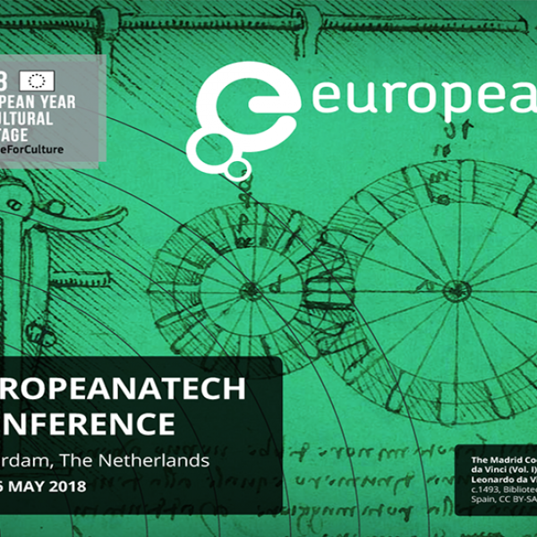 EuropeanaTech 2018 - first speakers announced