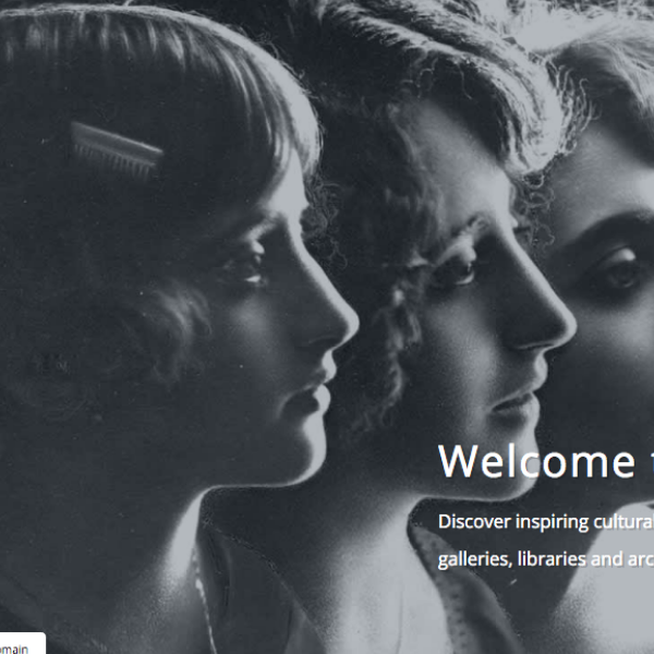 Introducing the new Europeana collections website