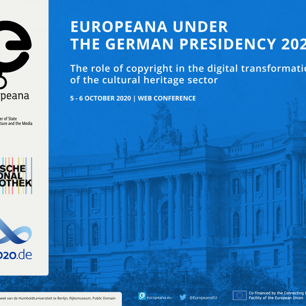 Europeana web conference under the German Presidency 2020
