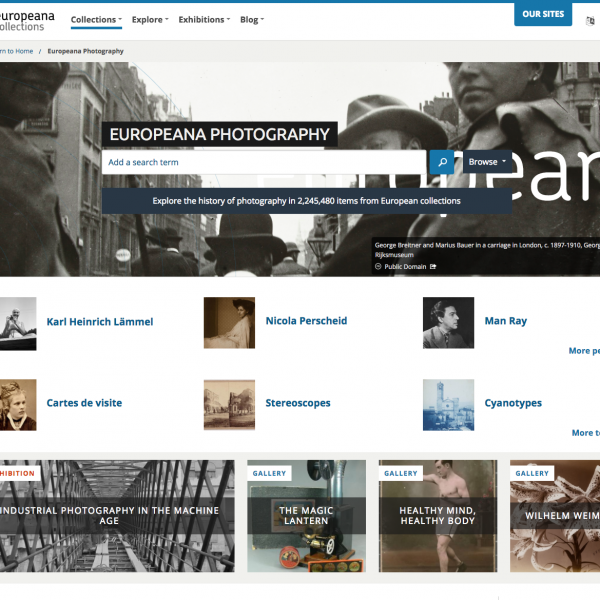 Europeana Photography opens up Europe's rich photographic heritage