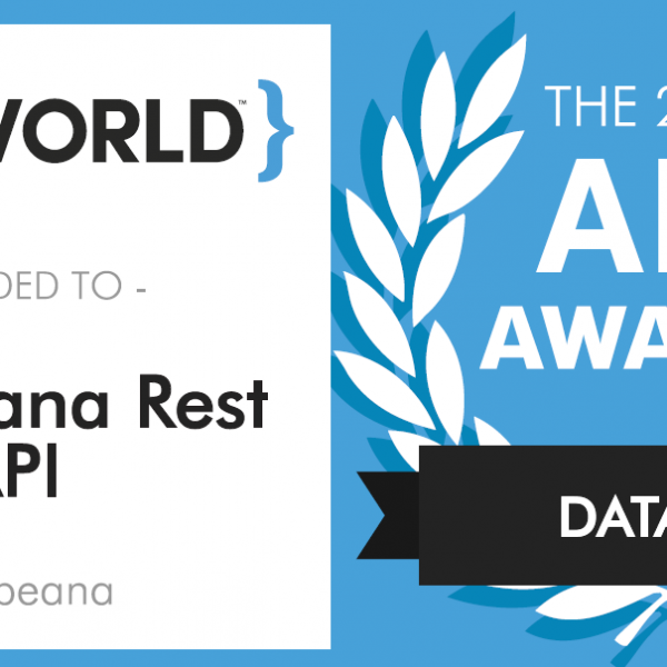 Europeana REST API wins the 2017 Data APIs category award