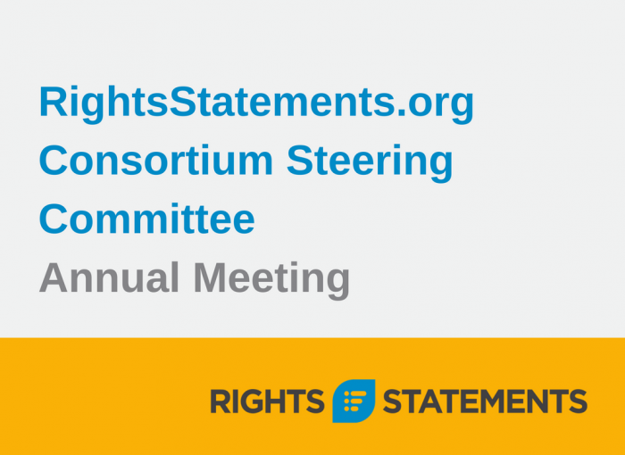 RightsStatements.org Consortium Annual Meeting