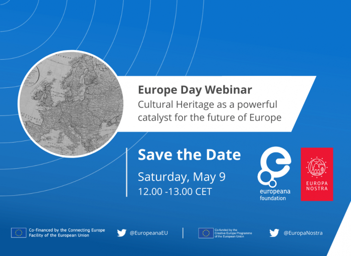 Europe Day Webinar: Cultural heritage as a catalyst for the future of Europe