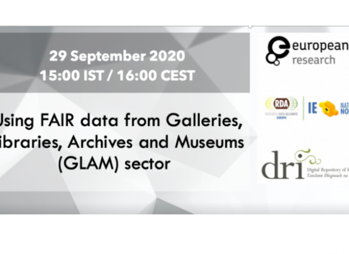 Using FAIR data from Galleries, Libraries, Archives and Museums (GLAM) sector