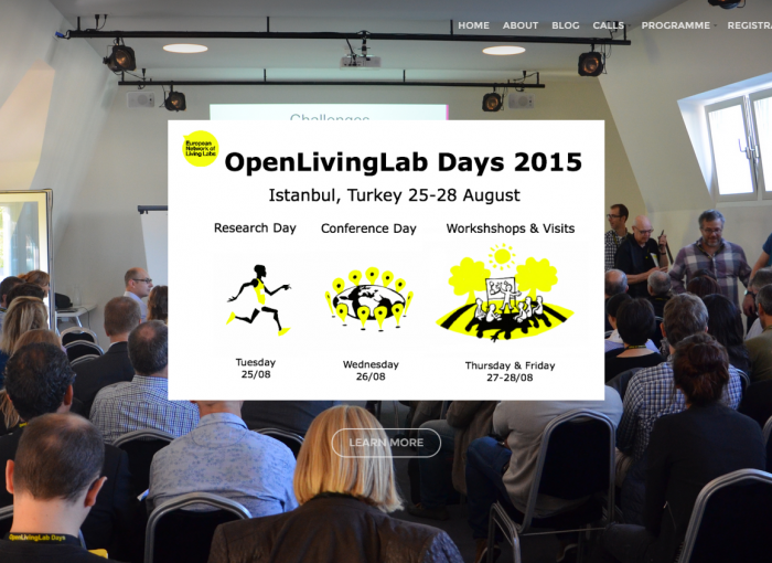 Open Living Lab Days, Istanbul