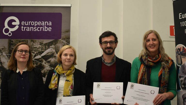 Meet the winners of the Europeana Research Grants Programme 2018