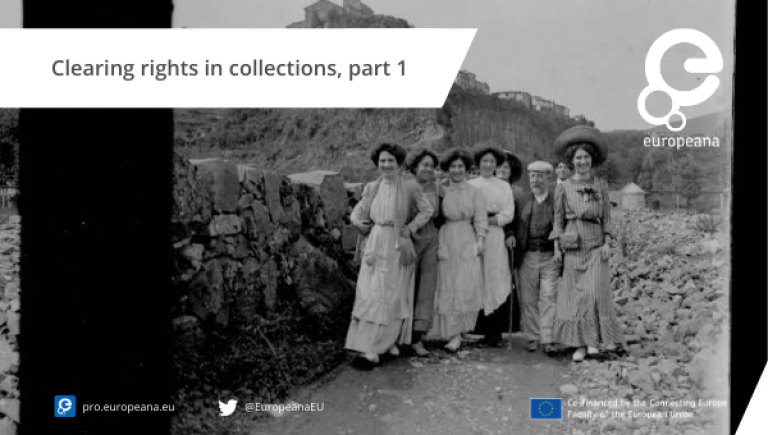 Clearing rights in collections