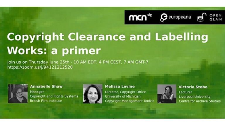 Copyright Clearance and Labelling Works: a primer