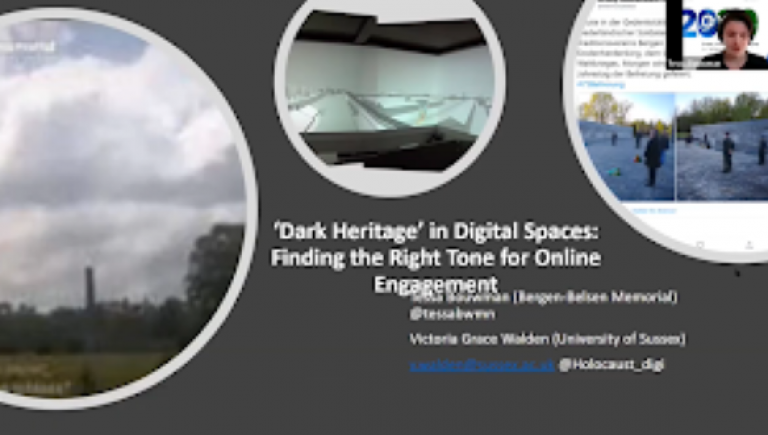 """Dark Heritage"" in Digital Spaces: Finding the Right Tone for Online Engagement"
