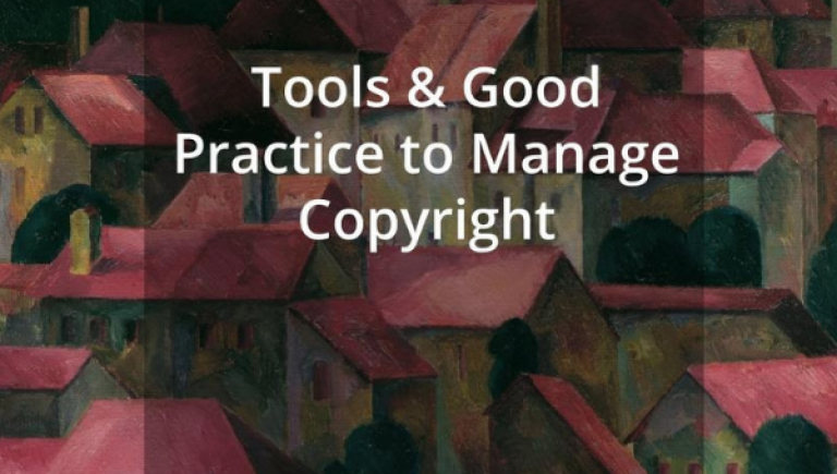 Tools and good practice to manage copyright