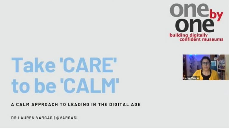 Taking a 'CALM' approach to digital skills development