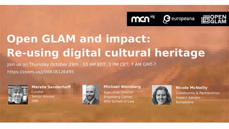 Open GLAM and impact: Re-using digital cultural heritage