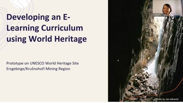 Developing E-learning curricula using World Heritage